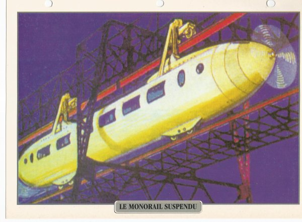 LE MONORAIL SUSPENDU