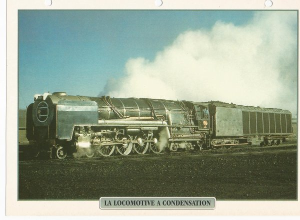 LA LOCOMOTIVE A CONDENSATION