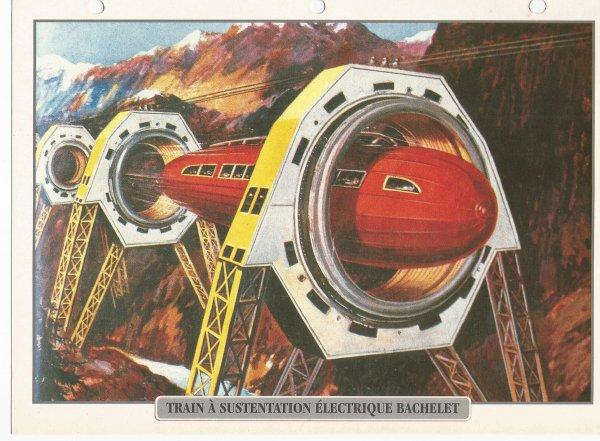 TRAIN A SUSTENTATION ELECTRIQUE BACHELET