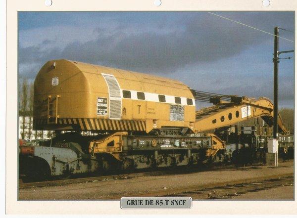 GRUE DE 85 T SNCF