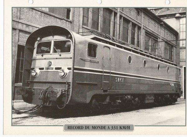 RECORD DU MONDE A 331 KM/H