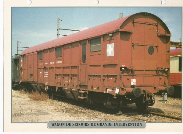 WAGON DE SECOURS DE GRANDE INTERVENTION