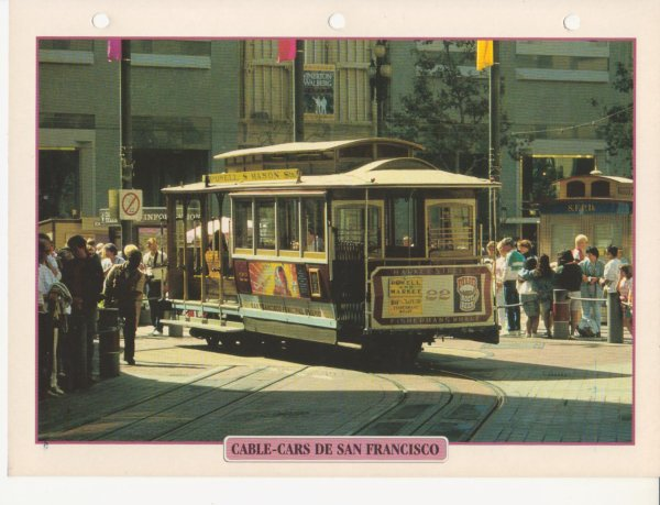 CABLE-CARS DE SAN FRANCISCO