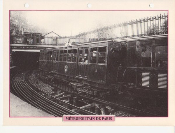 MÉTROPOLITAIN DE PARIS