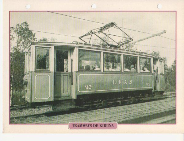TRAMWAYS DE KIRRUNA