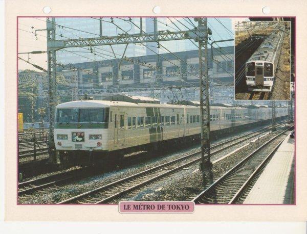 LE METRO DE TOKYO