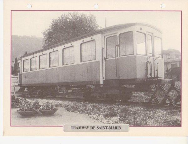 TRAMWAY DE SAINT-MARIN