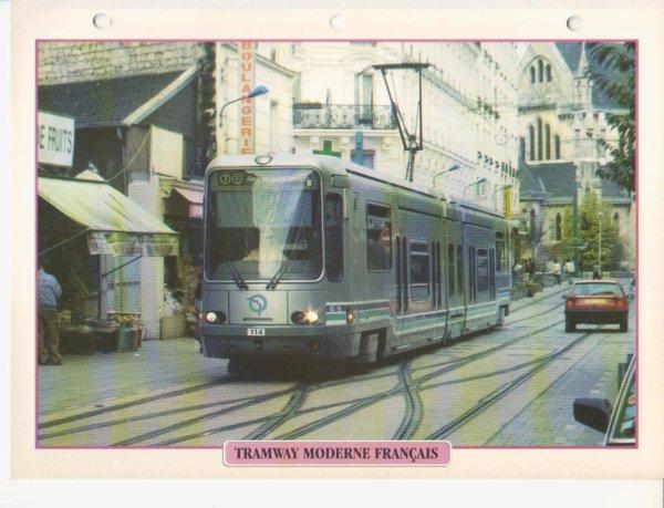 TRAMWAY MODERNE FRANÇAIS