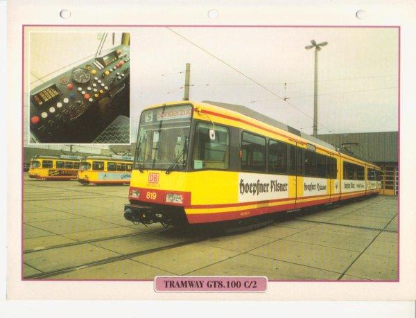 TRAMWAY GT8.100 C/2