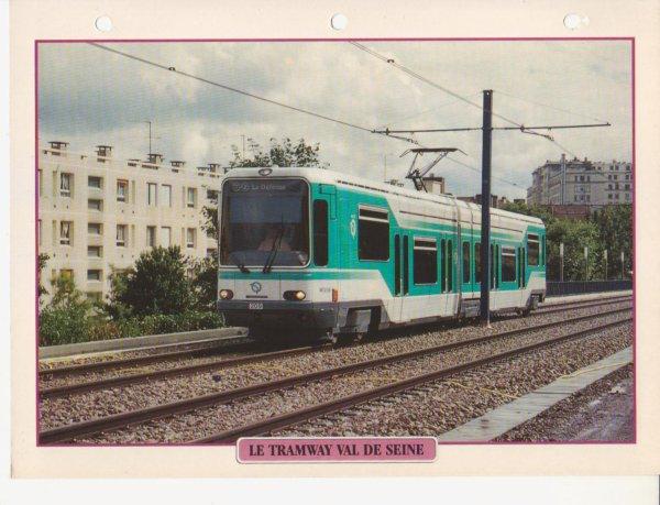 LE TRAMWAY VAL DE SEINE