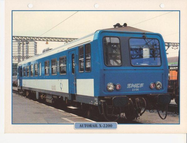 AUTORAIL X-2200