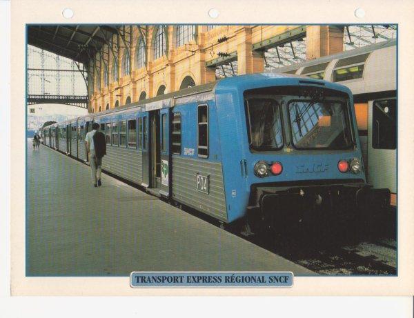 TRANSPORT EXPRESS RÉGIONALE SNCF