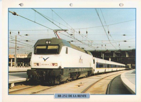 BB 252 DE LA RENFE