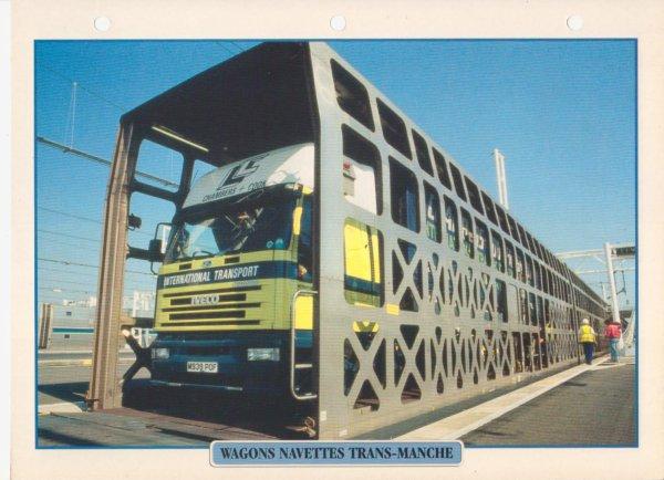 WAGONS NAVETTES TRANS-MANCHE