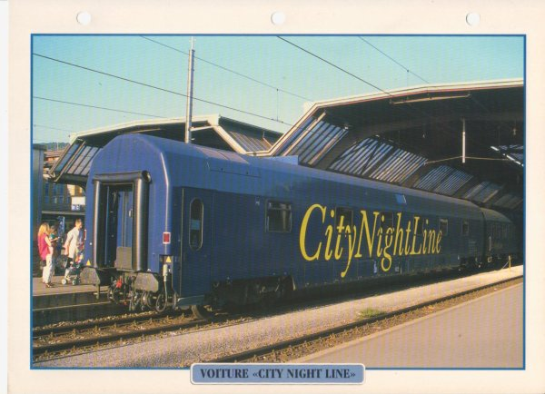 "VOITURE ""CITY NIGHT LINE"""