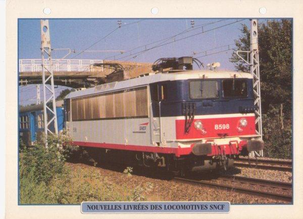 NOUVELLES LIVREES DES LOCOMOTIVES SNCF