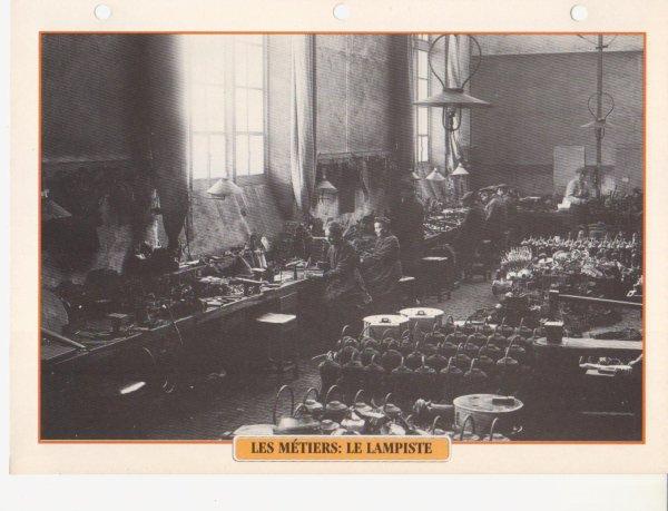 LES MÉTIERS: LE LAMPISTE