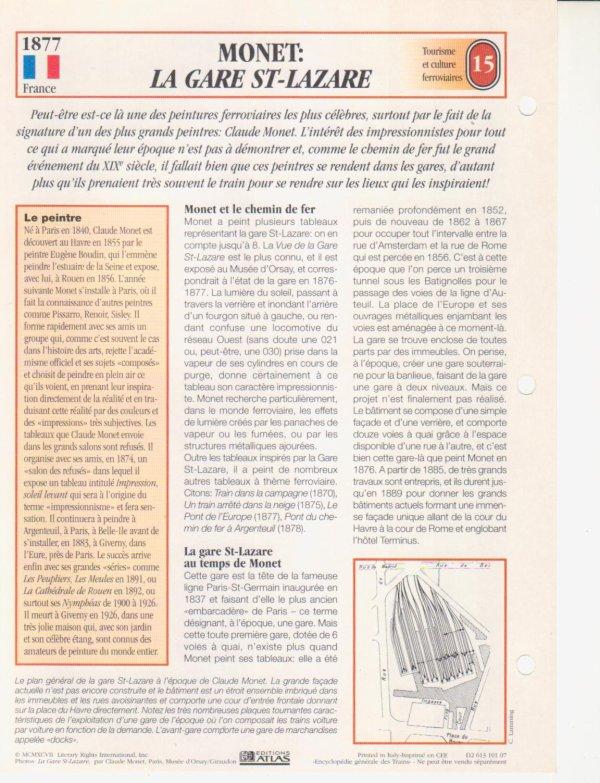 MONET: LA GARE ST-LAZARE