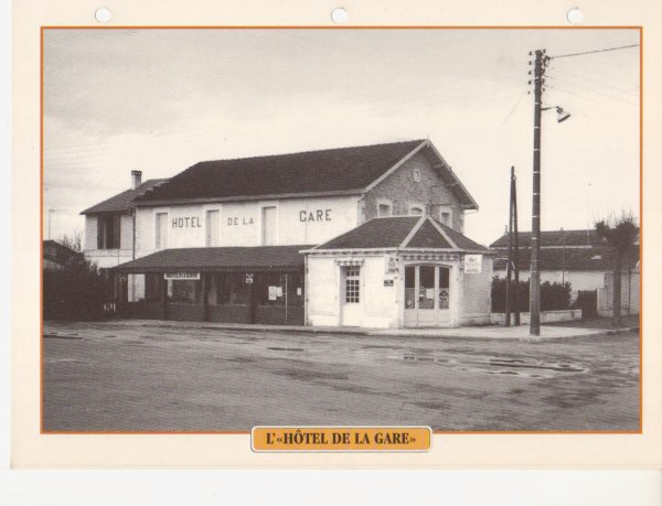 L'HÔTEL DE LA GARE