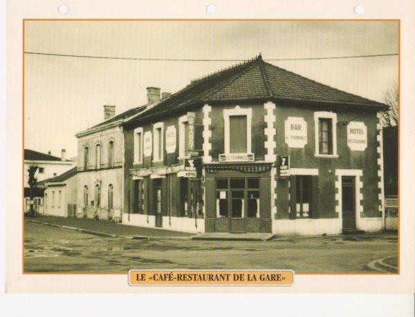 """LE """"CAFÉ-RESTAURANT DE LA GARE"""""""
