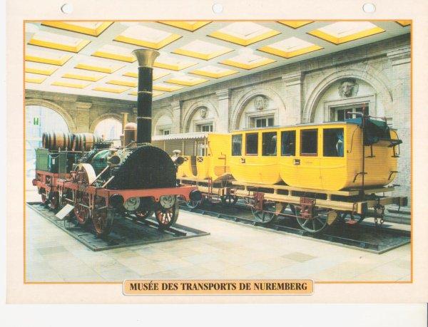 MUSÉE DES TRANSPORTS DE NUREMBERG