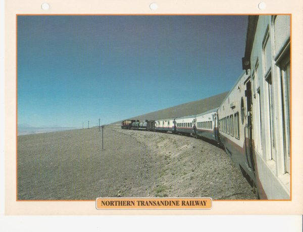 NORTHERN TRANSANDINE RAILWAY