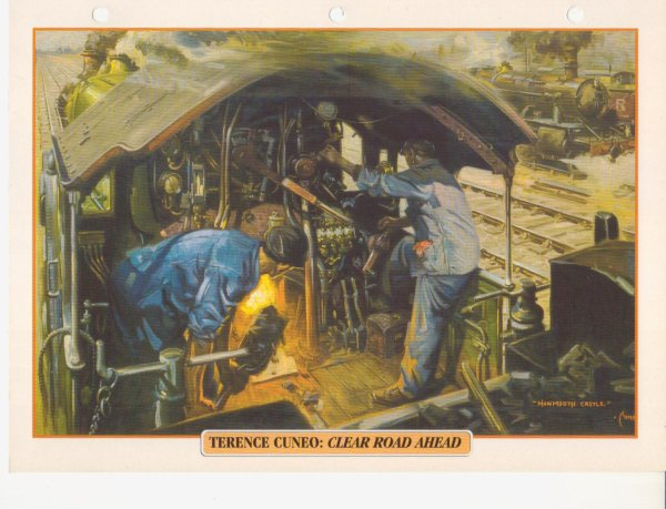 TERENCE CUNEO: CLEAR ROAD AHEAD