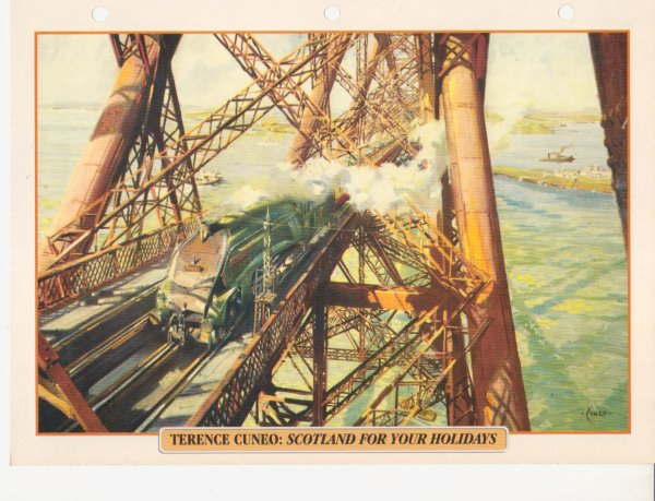 TERENCE CUNEO: SCOTLAND FOR YOUR HOLIDAYS
