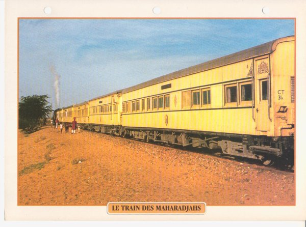 LE TRAIN DES MAHARADJAHS