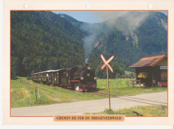 CHEMIN DE FER DU BREGENZERWALD