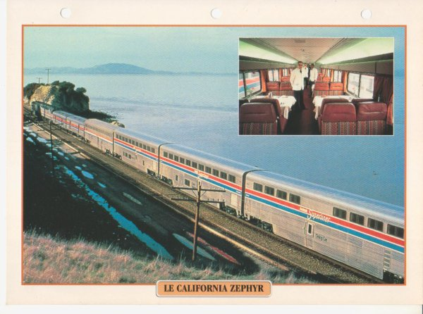 LE CALIFORNIA ZEPHYR