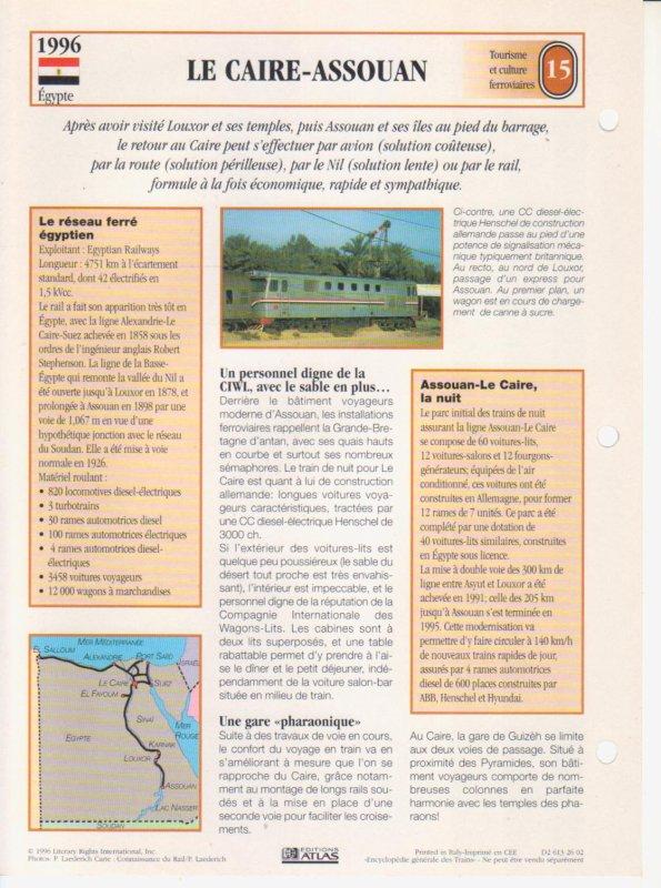 LE CAIRE-ASSOUAN