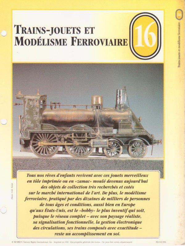 TRAINS-JOUETS ET MODÉLISME FERROVIAIRE