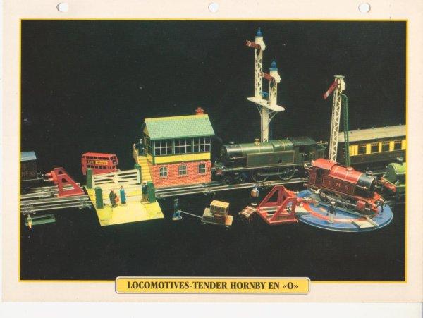 "LOCOMOTIVES-TENDER HORNBY EN ""O"""