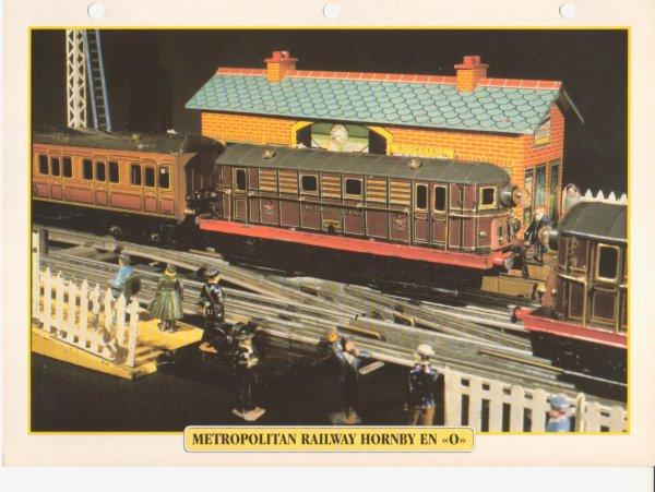 """METROPOLITAIN RAILWAY HORNBY EN """"O"""""""