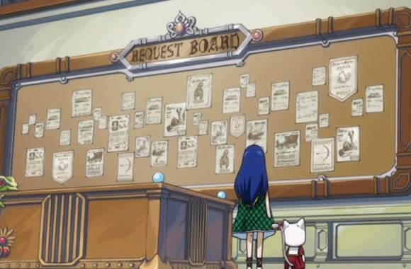Request Board : Missions de la guilde !