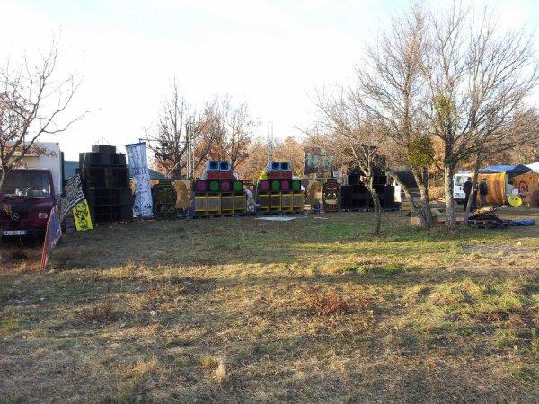 Teuf Enigmatik / Infratek/ Osmoze et Smill'r Tribe 31.12.2012