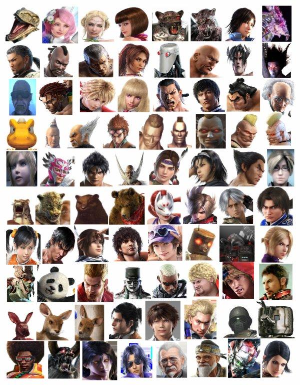 les personnages de tekken