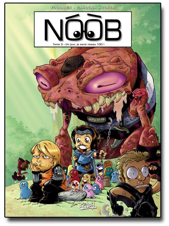 La couverture du tome 3 de la BD Noob dévoilée