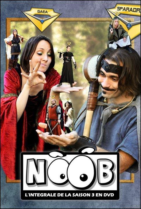 Les premiers visuels du dvd de la saison 3 de Noob !