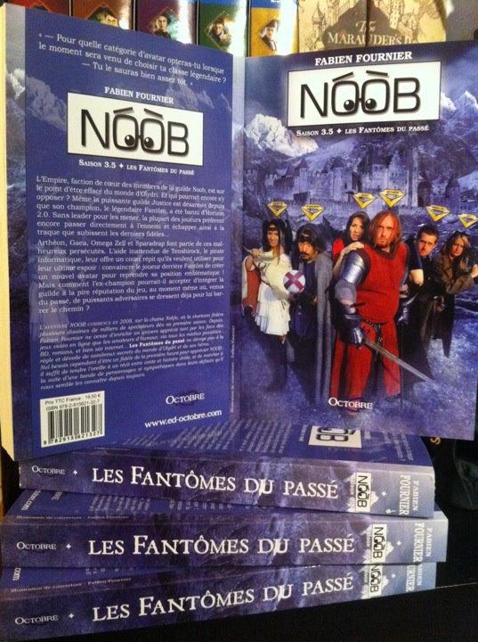 """Sortie roman 3 : """"Les fantôme du passer"""""""