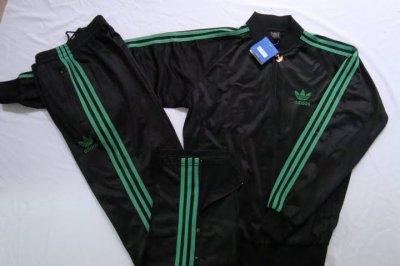 survetement adidas noir et vert