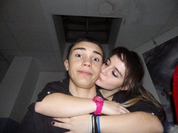 Ma chérie et moi :) <3