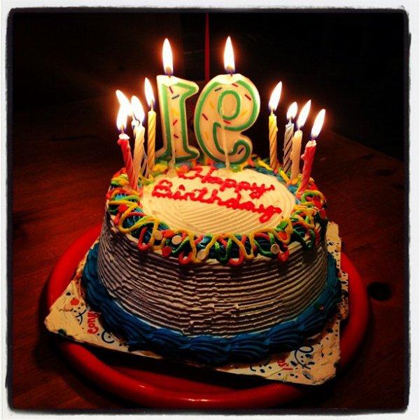 10 Août Gâteau d\u0027anniversaire pour les 19ans de Rydel + poeme fait par