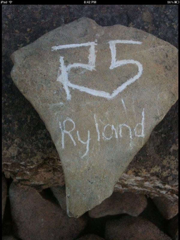 """13 Août: Photo tweeter de Riker se faisant porter par la foule + nouvelle R5TV """"City Walk"""" + Photo tweeter de Ross + Pierre ave gravée dessus le signe R5"""