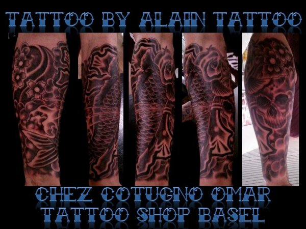 alain tattoo