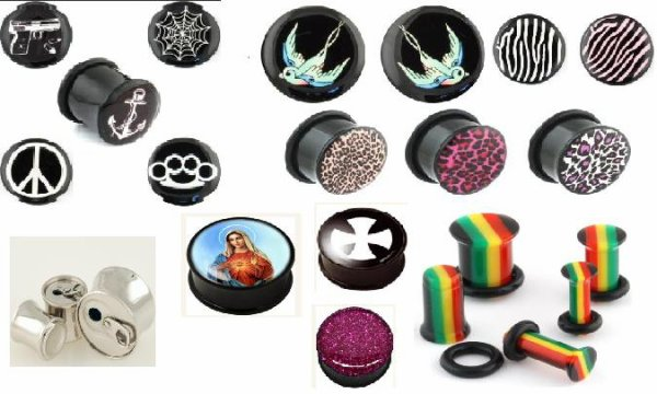 Piercings, Plugs, Tunnels etc...