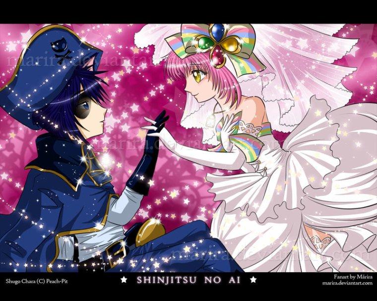 Chapitre 7 : la vie de château le couronement des jumelle en tant que princesse et la douleur de amu et ikuto