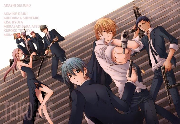 kuroko no basket chapitre 2 la rencontre avec kuroko le prince froid.