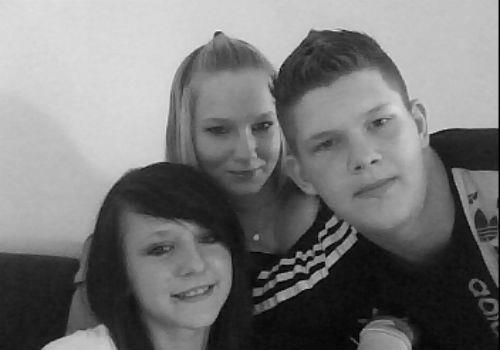 ma cousine et mon frere et moi